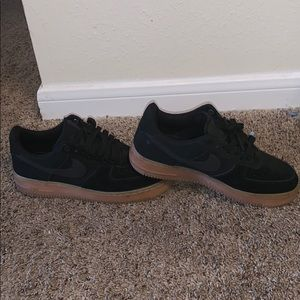 Black (tan bottom) AF1